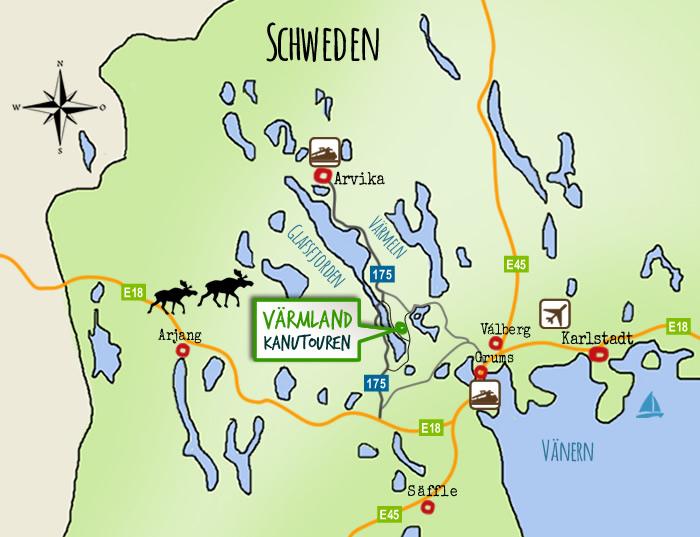 kanutouren schweden tipps